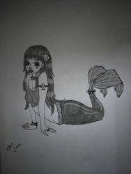 Gothic Mermaid by Zombribat