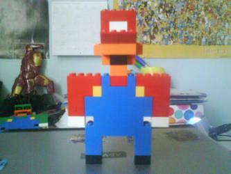 Lego Mario by Ziggy161