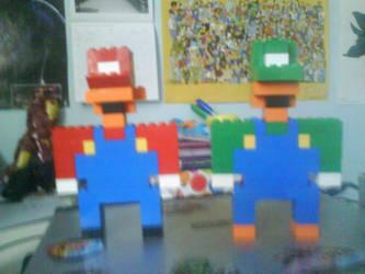 Lego Mario Bros by Ziggy161