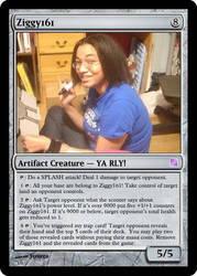 MTG Card: Ziggy161 by Ziggy161