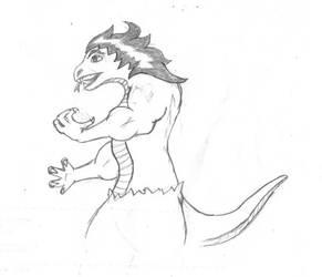 Random Lizard dude by Ziggy161