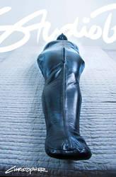 Heavy leather sleepsack by ChristopherFetish