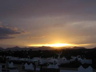 Lanzarote 2009 - Sunset by Zazou8
