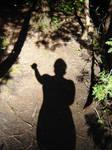 Me or my shadow? by Zazou8