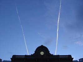 Sky in Brussels by Zazou8