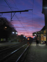 Morning on the station by Zazou8