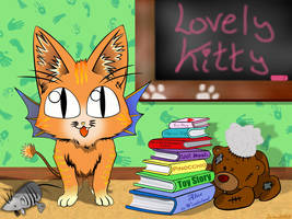 What a lovely Kitty short by Zazou8