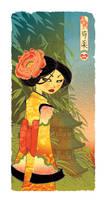 Peony Geisha by OGmouse