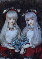 Twin Saki by chinhy-sou