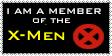 X-Men Stamp by BobTheEgg