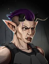 Shadowrun Troll Adept By Sarroz On Deviantart