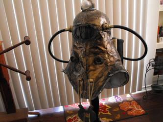 Bioshock 2: Subject Delta Helmet by CatWearingGlasses