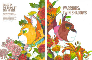 Twin Shadows printed cover by Cushfuddled