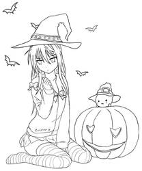 Chitoge Witch :3 by Zoleon