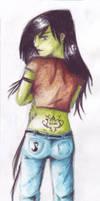 Shego tattoo by ShadowOfSilent