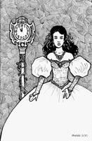 Sarah at the Masquerade by Ithelda