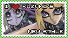 Kazuki's New Style Stamp by Bayleef-