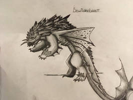 Bewilderbeast (HTTYD) by NemuriiPikachu