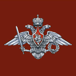 Emblem of armed forces Silver by Legartis