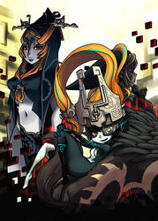 Midna pinup by oh8