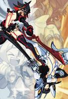 Kill la Kill: Ryuko and Satsuki by oh8