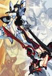 Kill la Kill: Satsuki and Ryuko by oh8