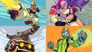 Combat Core guest design bonus characters by oh8