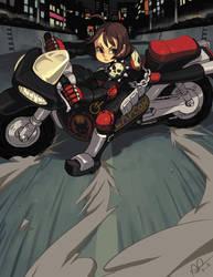 Neo Aoharu is about to E.X.P.L.O.D.E. by oh8