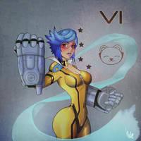 Neon Strike Vi by Ilv-e