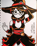 Solange the Witch [inktober day 30] by Ravagaard