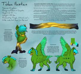 Toka Refsheet by Gryphonwolf6274
