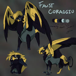 Faust Refsheet by Gryphonwolf6274