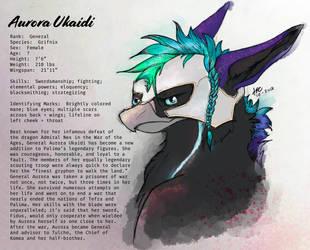 General Aurora Ukaidi Bio by Gryphonwolf6274
