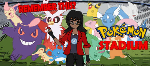 Commission- RT: Pokemon Stadium by TNBCCBARTIST247