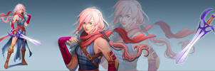 Lightning Returns FFXII contest by mannequin-atelier