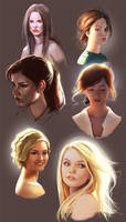 Heads/light practice by mannequin-atelier