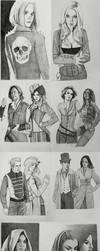 May Sketchbook Compilation by mannequin-atelier