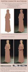 My painting process by mannequin-atelier