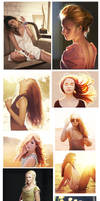 Studies compilation by mannequin-atelier