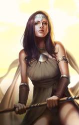 Sun goddess by mannequin-atelier