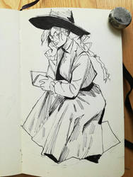 Studying witch by mannequin-atelier