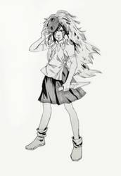 Mononoke Hime San by mannequin-atelier