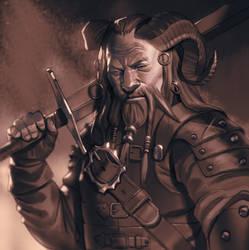 Great warrior by mannequin-atelier