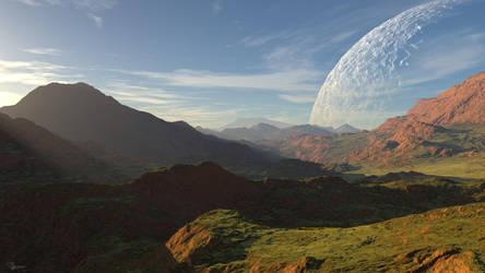 Sunset on an Alien World #2 by DylserX