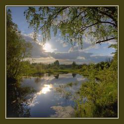 Nerl River by Koptelov
