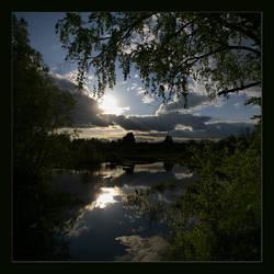 Nerl river... by Koptelov