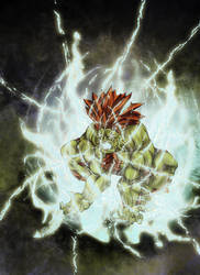 Blanka - Street Fighter by JosueMariscal