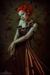 Goddess of Autumn by Silver-Pearl-Photo