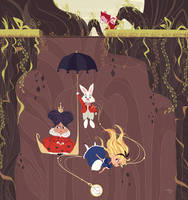 Falling Down The Rabbit Hole by Orelly