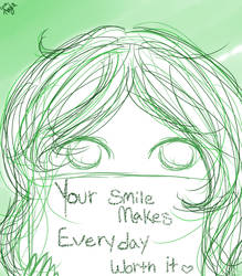 Positivity Sketch I by LadyInteresting